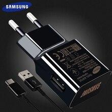 Samsung S8 S9 plus Оригинальное быстрое зарядное устройство 1,2 м usb type C кабель 15 Вт 9V1. 67A настенный адаптер EU/US/UK Note8 S 9 S 8 C5 C7 C9pro