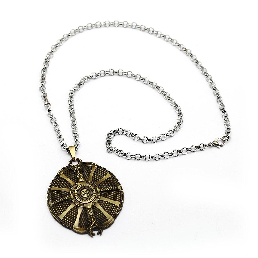 Jeu God Of War 4 Collier Kratos symbole Amulette Pendentif Cosplay Bijoux Pour Cadeau