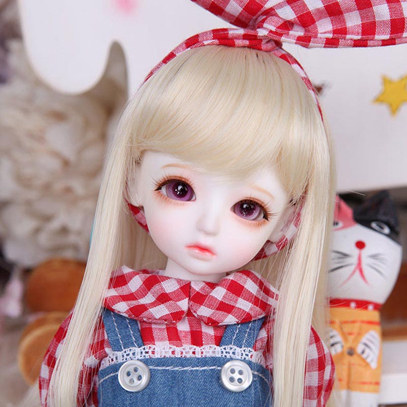 New Arrival 1/6 BJD Doll BJD/SD Honey Delf Hanael Lovely Doll With Eyes For Baby Girl Birthday Gift kid delf girl bory bjd doll 1 4 luts baby girl sd doll free eyes