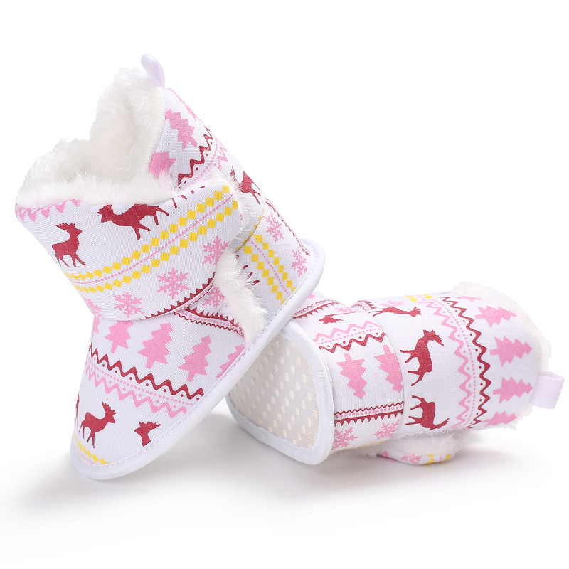 Winter Baby Girl Jongen Laarzen Zuigeling Warme Zachte Bodem - Baby schoentjes - Foto 4
