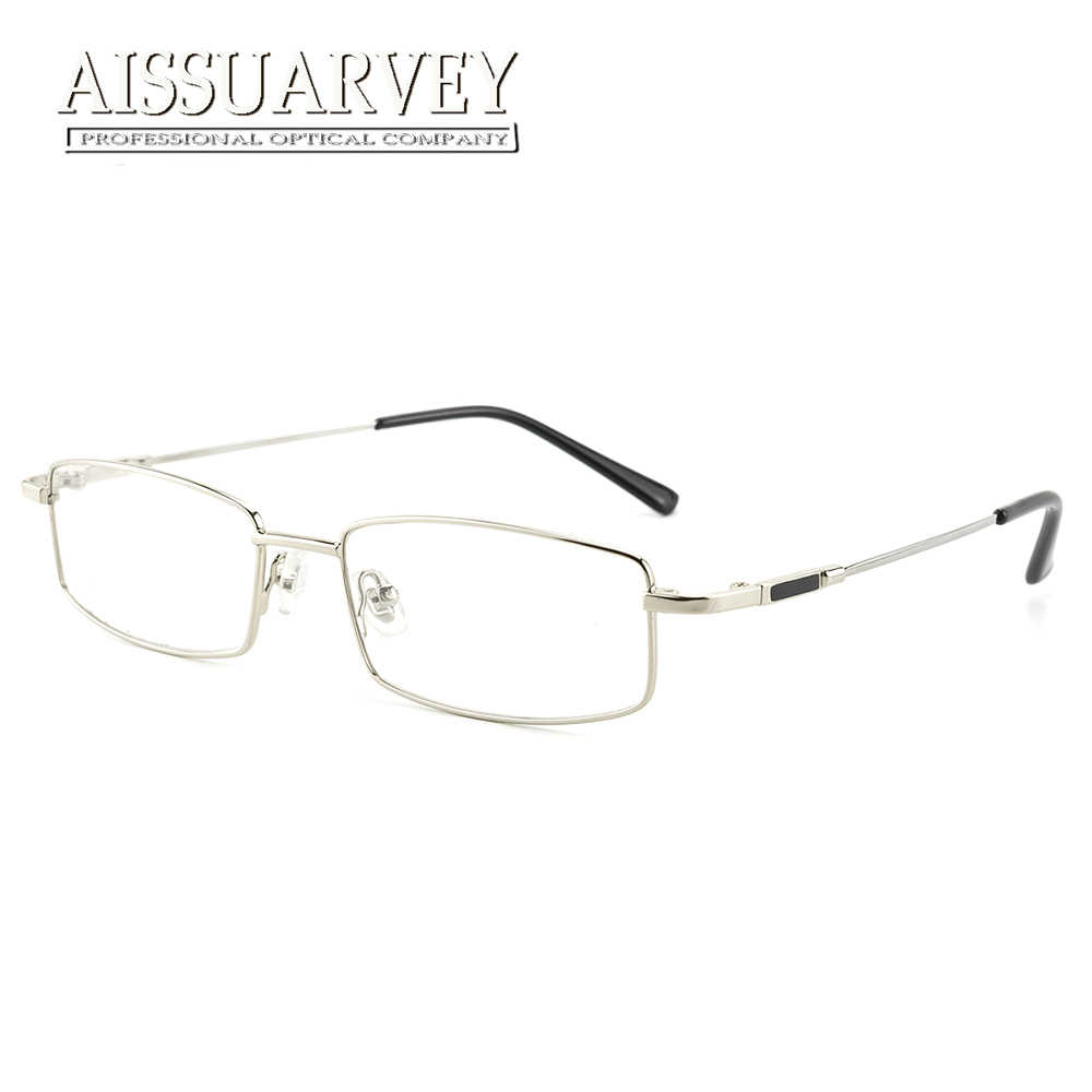 5dd04241650 ... Men Eyeglasses Frame Optical Eyewear Myopia Prescription Glasses Frame  Clear Lenses Full Rim Best Price Fashion ...