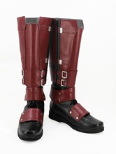 Deadpool Wade Wilson Cosplay Boots Shoes Adult Men's Superhero Boots Custom Made