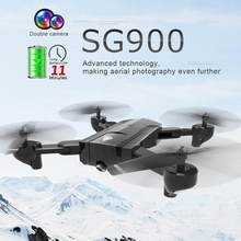 SG900 Foldable Quadcopter 2.4GHz 720P/1080P HD Drone Quadcopter WIFI FPV Drones Rc Helicopter Drone With Camera(China)