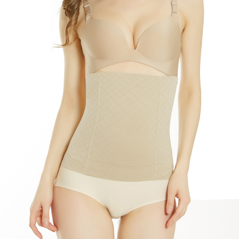 00962c9a3 Women slim waist Belt Waist Trainer Slimming Body Shaper Postpartum Belly  Band Pulling Underwear Long Torso Corset-in Waist Cinchers from Underwear  ...