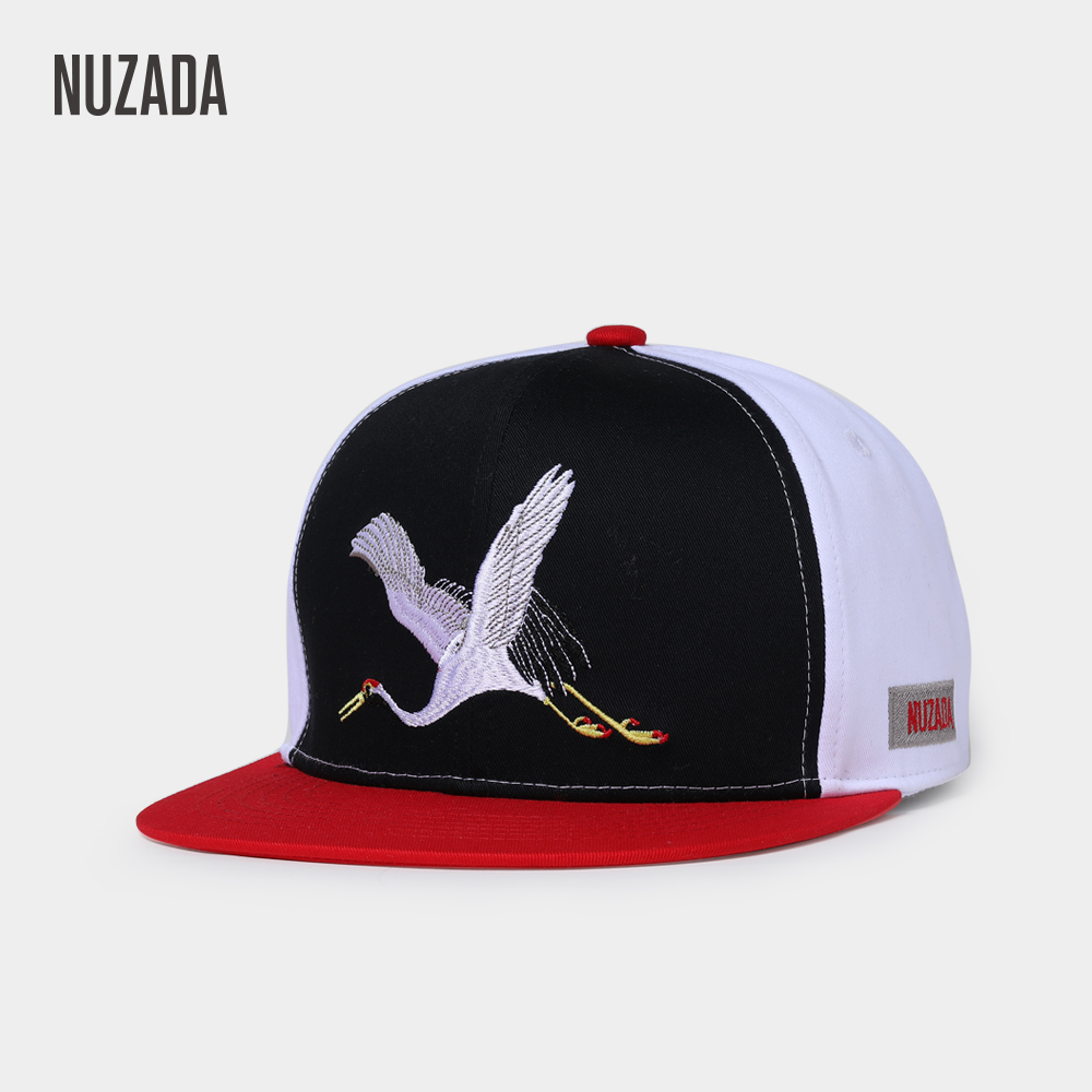 NUZADA High Quality Cotton Embroidery Men Women Couple Hip Hop Cap Spring Summer Caps