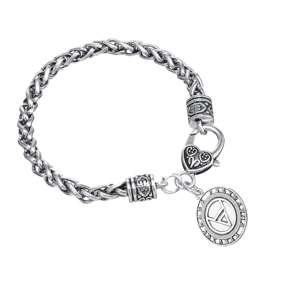 Minimal vintage mens slavic pendant bracelet with symbol of god minimal vintage mens slavic pendant bracelet with symbol of god veles charms supernatural amulet male wicca jewelry in charm bracelets from jewelry biocorpaavc Choice Image