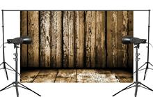 150x220cm Retro wooden wall Photography background Mud Yellow Foldable Studio Background backdrop