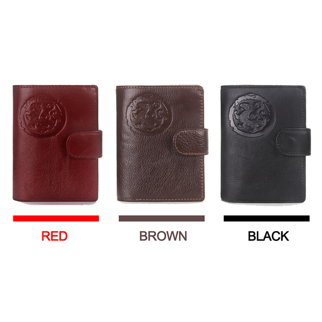 2019 Passport Wallet Men Genuine Leather Travel Passport Cover Case Document Holder Large Capacity Credit Card Holder Coin Purse 2