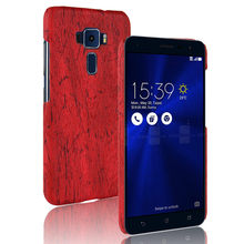SuliCase Leather Case for Zenfone 3 ZE520KL ZE552KL Wood Grain Case Cover for Asus Zenfone3 ZE520KL ZE552KL Hard PC Frame Cover цены онлайн