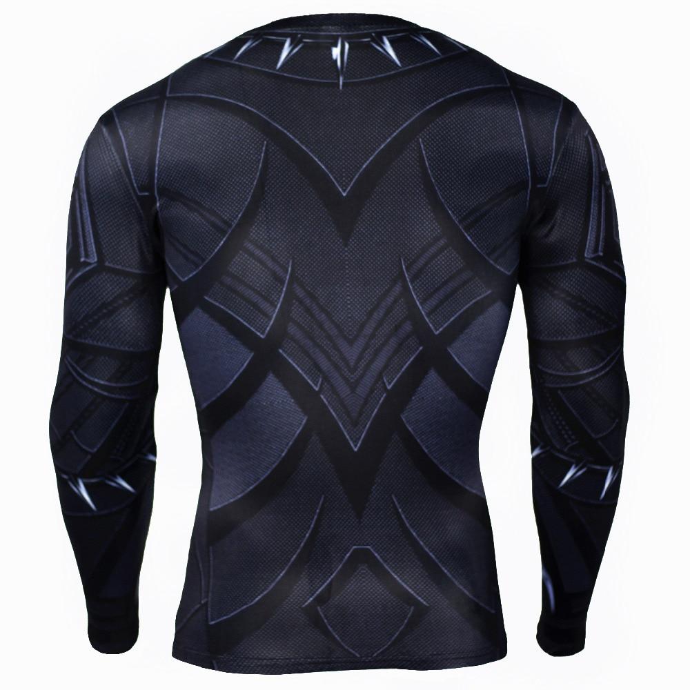 2017 brand men marvel superhero t shirt winter soldier long sleeve t shirts fitness spiderman spiderman black panther top tees-5