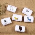 Милые животные хаски вышивки женщины хлопок белые носки прекрасная собака Жаккардовые женские чистый цвет носки смешные kawaii мопс meias soks