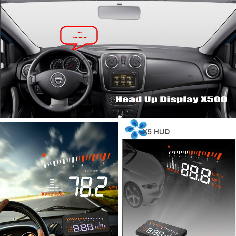 For Renault Duster / For Dacia Duster 2009~2015 - Car HUD Head Up Display - Safe Driving Screen Projector Refkecting Windshield купить в Москве 2019