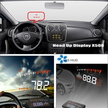 For Renault Duster / Dacia 2009~2015 - Car HUD Head Up Display Saft Driving Screen Projector Refkecting Windshield