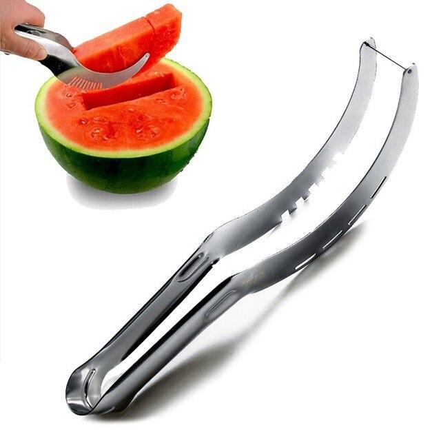 Stainless Steel Watermelon Slicer karpuz dilimleyici  Fruit Knife Watermelon Cutter kitchen gadgets accessories Kitchen Tool