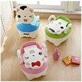 3 Colores Lindo del Gato de Los Niños Higiénico Mierda Pis Orina Portable Aseos bebé Orinal Asiento Para Niños Bacinica Higiénico Niño formación