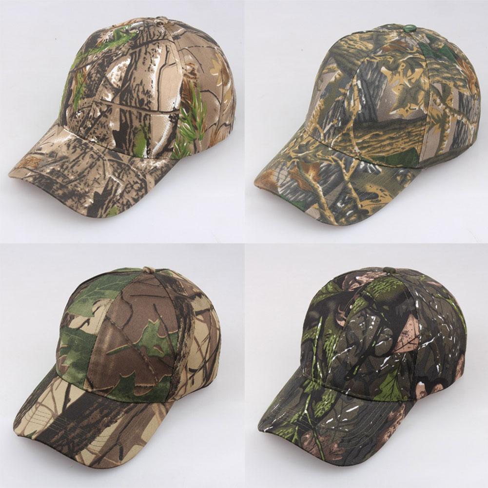 Men Women Outdoor Tactical Adjustable Camouflage Baseball Cap Snapback Hats бейсболк мужские