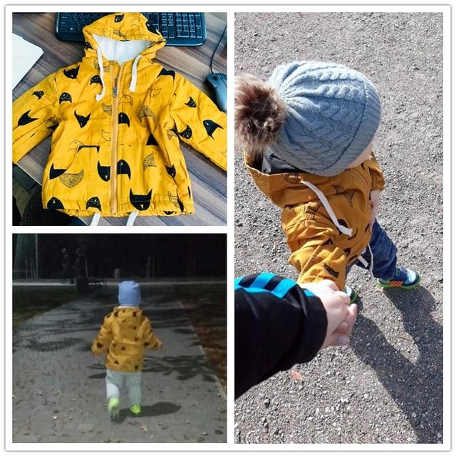 Benemaker Winter Fleece Jackets For Boy Trench Children's Clothing 2-10Y Hooded Warm Outerwear Windbreaker Baby Kids Coats JH019
