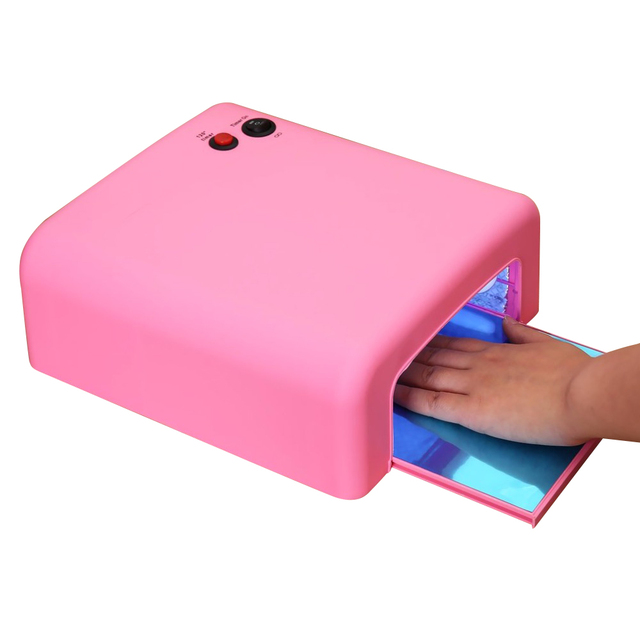 Electric Nail Dryer 36w Uv Lamp For Drying Nails Gel Polish Salon Curing Finger Feet