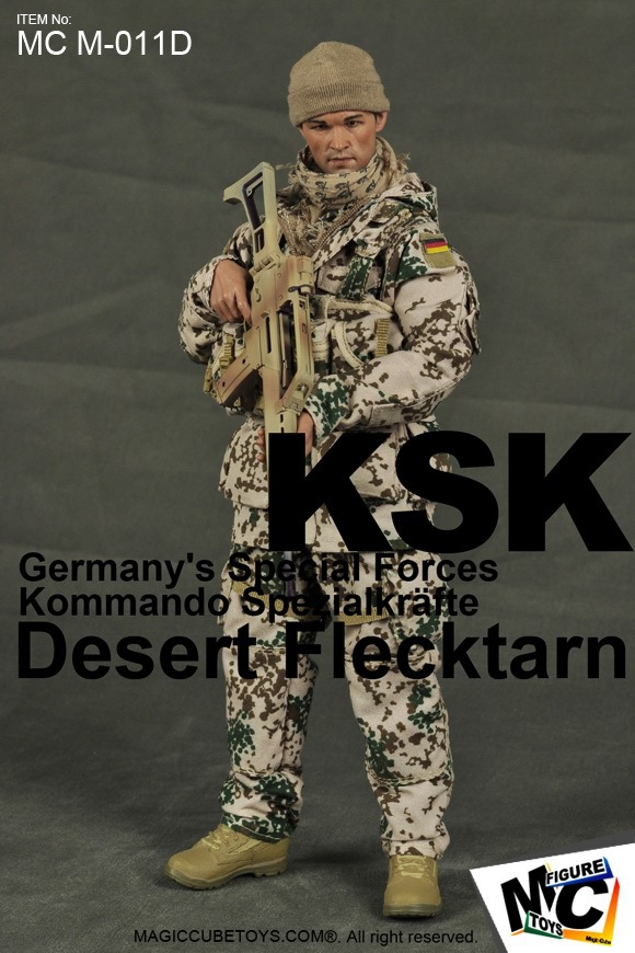 цена на 1/6 scale Military figure doll German KSK ,Jungle & Desert  Soldier  12