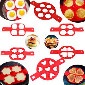PH Pacific Silicone Pancake Maker Forms Ring Mold Egg Tools