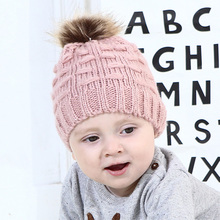 Beanie Cap Baby Caps Hats for Girls Childrens Hat Cute Toddler Kids Girl&Boy Hat Baby Infant Winter Warm Crochet Knit Hat