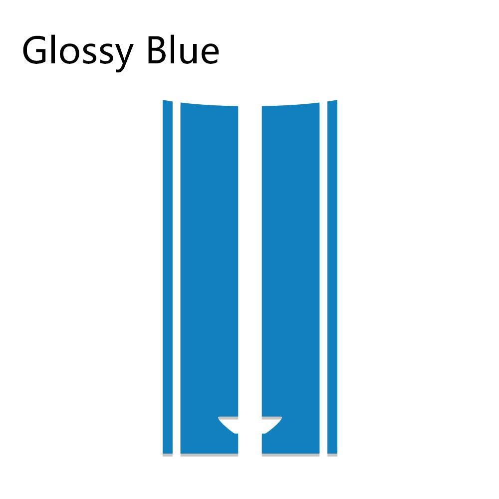 Автомобильный стиль, наклейка на голову, капот, наклейки в полоску для MINI Cooper S One, земляк, Clubman R55 R56 R60 R61 F54 F55 F56 F60, аксессуары - Название цвета: Blue
