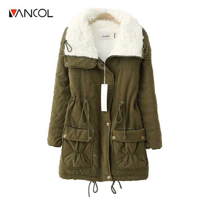new 2016 winter jacket women military print parkas duck down loose fit coat medium long pathchwork plus size overcoat snowear
