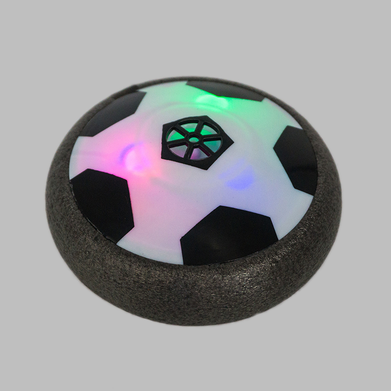 Air Power Soccer Training Equipment Funny LED Light Flashing Ball Toys Football Soccer Suspended Led Flashing Soccer Toys