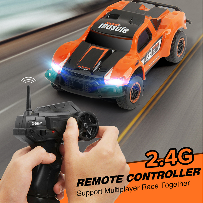 Mini RC Car 25KM/H High Speed Radio Controled Machine truck 4CH Remote control Drift On The Control Toys Xmas gifts