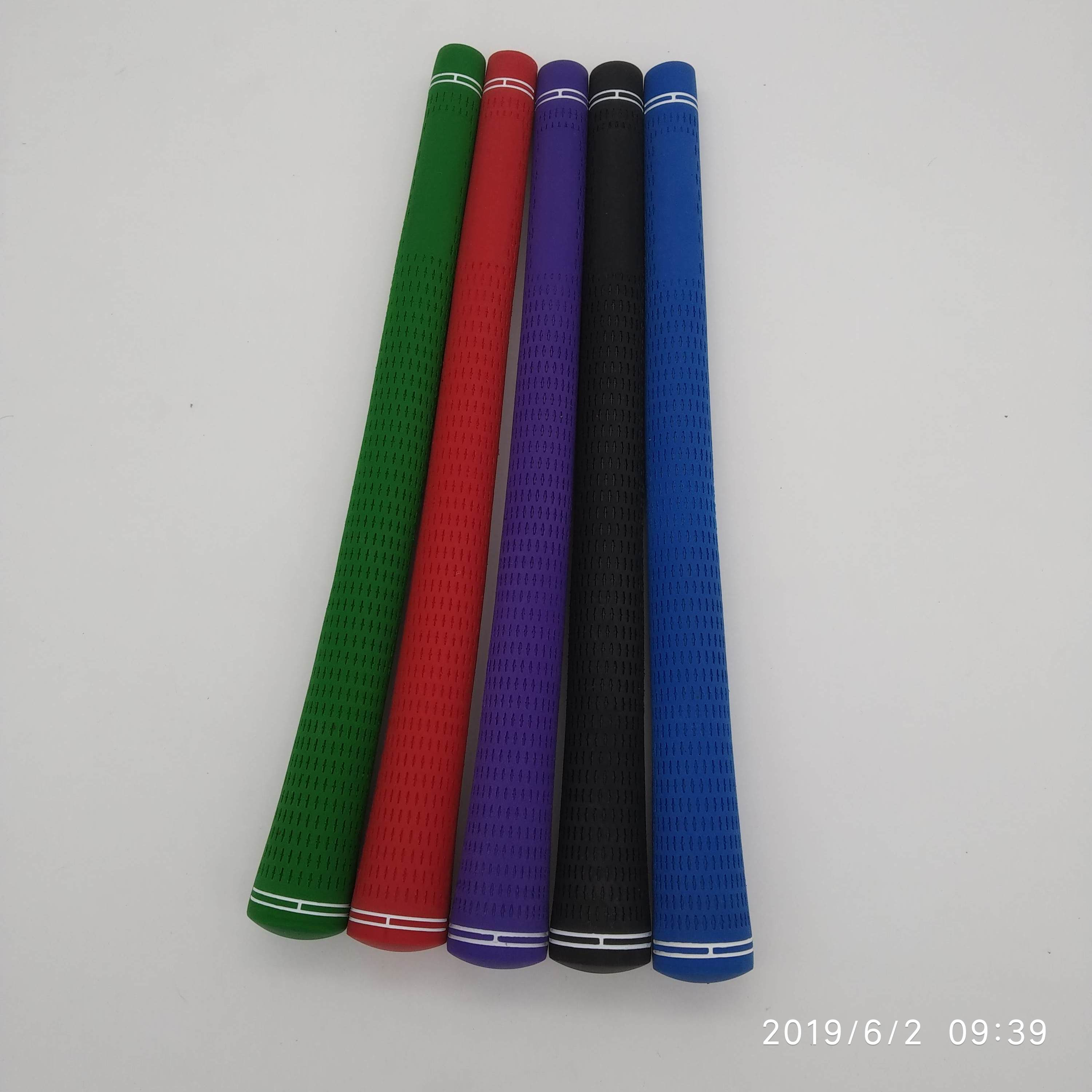13pcs per lot 60R blank logo M60 iron driver rubber golf grip-in Club Grips from Sports & Entertainment