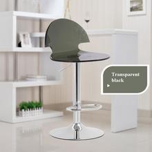 Escritório cadeira do computador cadeira de assento de plástico Transparente cor Preta café frete grátis fezes cadeira de salão de exposição