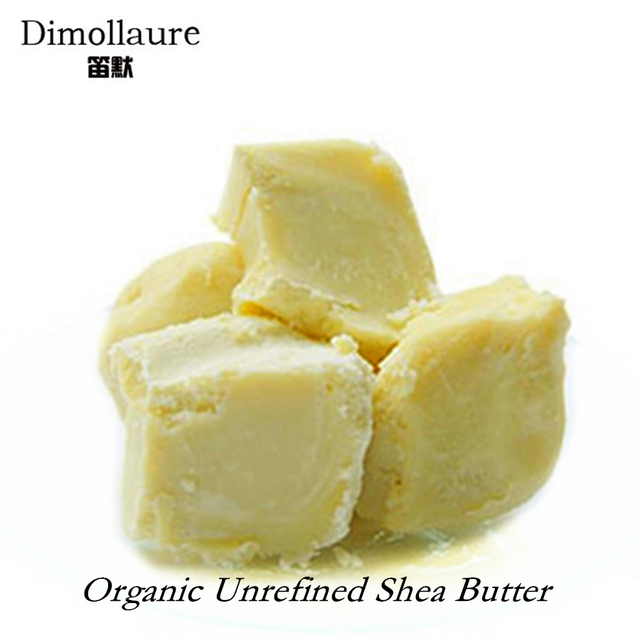 Dimollaure 50g-500g Organic Shea Butter Unrefined skin care Esential Oil handmade soap oil body massage oil DIY Base oil