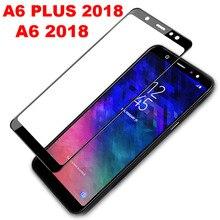 3D полное стекло для samsung A6 A6 Plus Защитное стекло для экрана для samsung Galaxy A6 Plus A8 Закаленное стекло пленка 9H