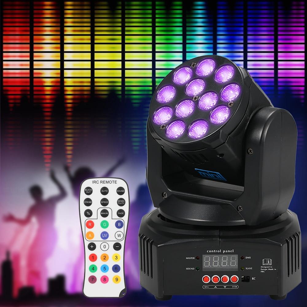 Здесь можно купить  40W Rgbw Wash Rotating Moving Head Stage Effect Light Dmx512 Sound-Activeated Reomote Control Moving Head Projector Light Stage  Свет и освещение
