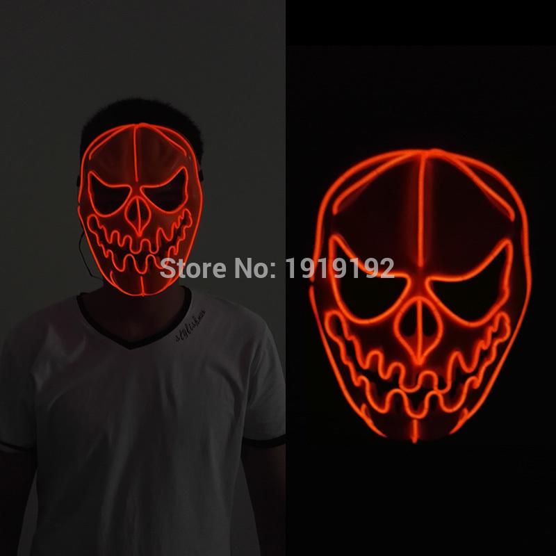 HTB1j3TQRVXXXXauXpXXq6xXFXXXM - Mask Light Up Neon LED Mask For Halloween Party Cosplay Mask PTC 260