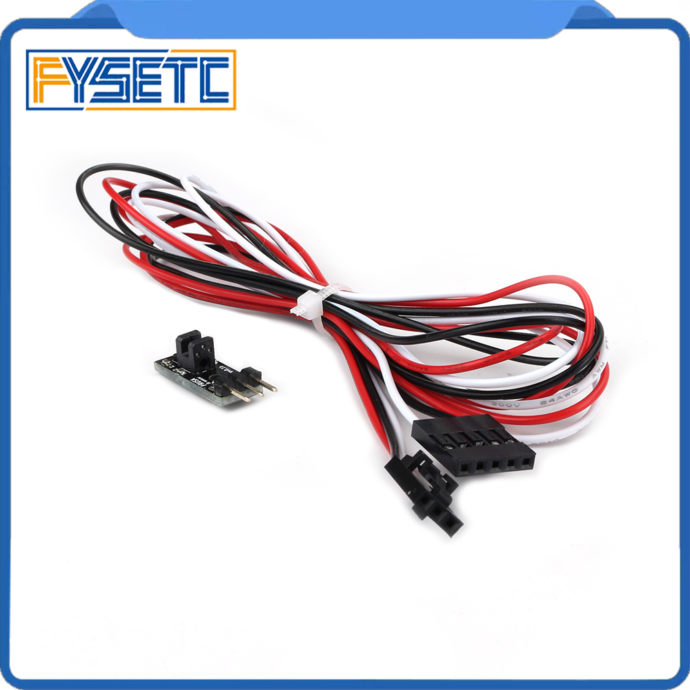 Mk2 5 Mk3 To Mk2 5s Mk3s Latest 3D IR Filament Sensor Upgrade Detect Stuck Filament Sensor For Prusa i3 MK3 3D Printer Parts
