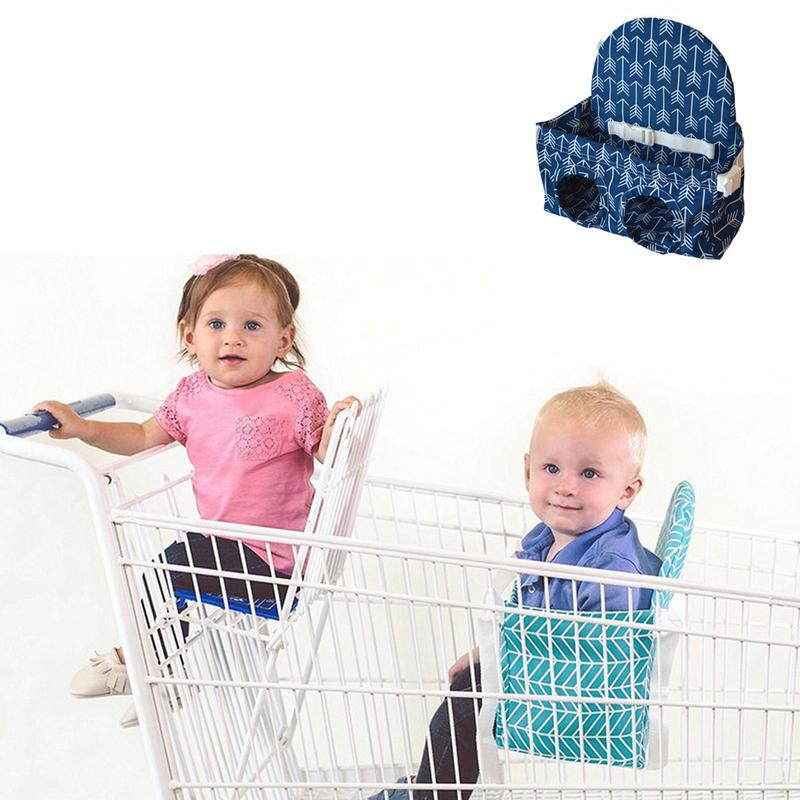 Portable Baby Shopping Cart Hammock Supermarket Shopping Car