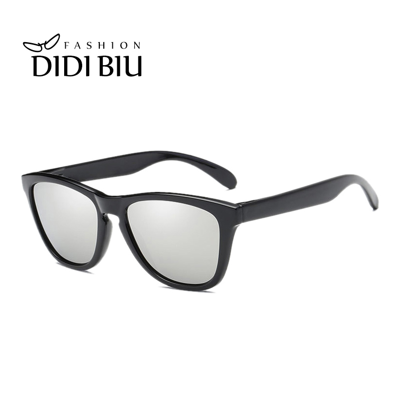 ceaafa61d35 DIDI 2018 Transparent Frame Polarized Driving Sunglasses Men Women Vintage Square  Flat Top Eyewear Christmas Gift Oculos H817-in Sunglasses from Apparel ...