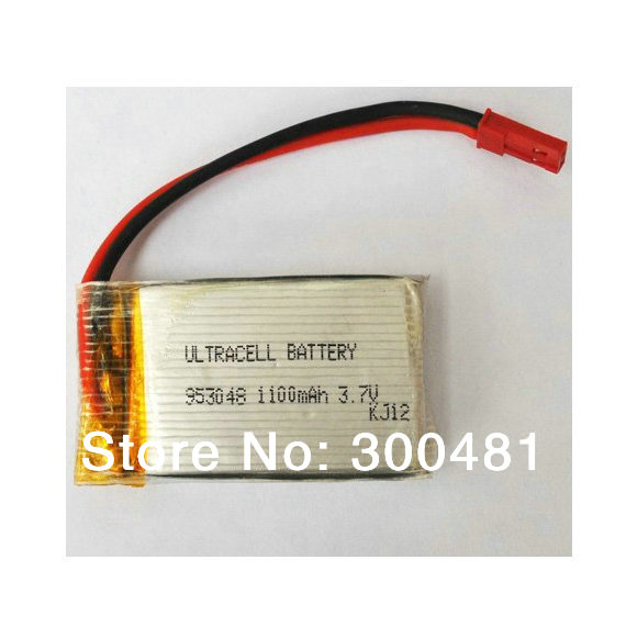 RC Helicopter Double Horse MJX F28 F29 T04 T05 T25 T41C Battery 3.7V 1100mAh