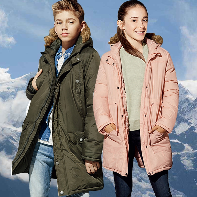 Childrens Winter Jackets Cotton Down Padded Children Clothing 2018 Big Boys Girls Warm Winter Down Coat Thickening Outerwear 12Childrens Winter Jackets Cotton Down Padded Children Clothing 2018 Big Boys Girls Warm Winter Down Coat Thickening Outerwear 12