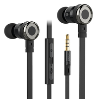 Original Stereo Headphones FuQing C1 3 5mm Headset In Ear Earphones With Mic For IPhone Samsung