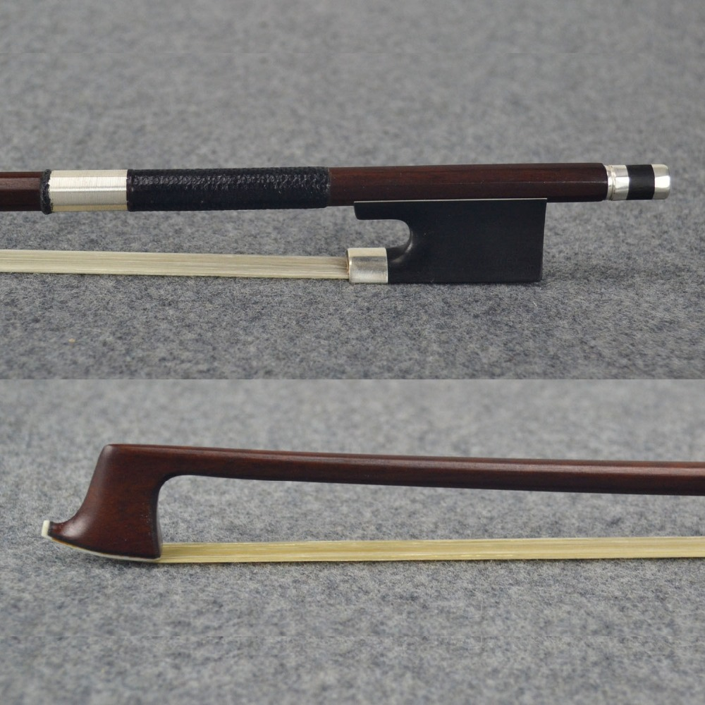 Old Stable Octagonal MASTER Pernambuco Violin Bow!Great Sound,Unbleached Mongolia Horse Hair!Nice Violin part,violin accessories