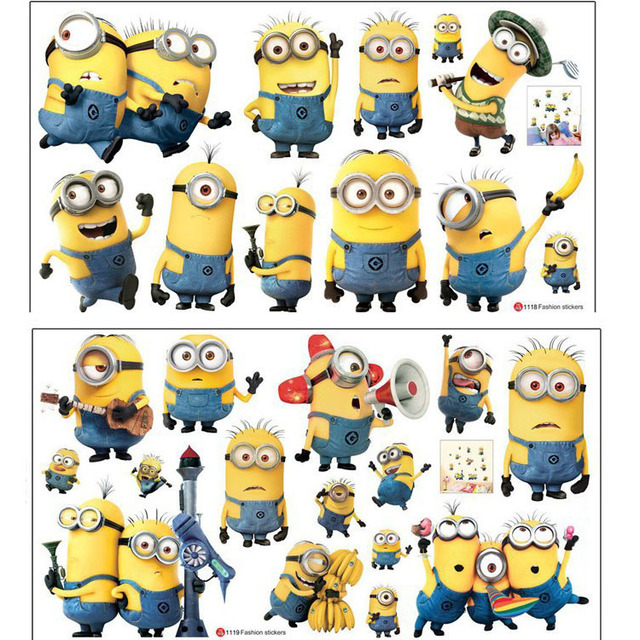 wall stickers Cartoon Despicable Me 2 Wallpaper For Kids Rooms Home ...