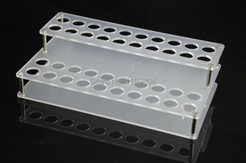 E cigarette Acrylic shelf 40 Holes Display Stand Show case E cig Exhibition Shelf display Rack