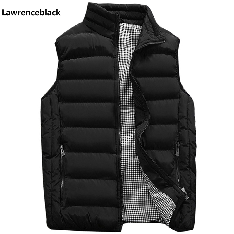 Vest Men New Stylish 2019 Autumn Warm Sleeveless Jacket Men Winter Waistcoat Men's Vest Fashion Casual Coats Mens Plus Size 1960(China)