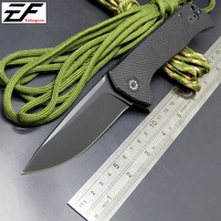 New Arrival ZT 0804 Ball Bearing Folding Knife Steel G10 Titanium Plating Handle 204P Camping Survival