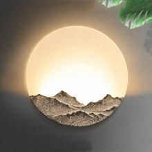 الصينية الحديثة بسيطة 5 واط وحدة إضاءة LED جداريّة ضوء غرفة نوم فندق مصباح الإبداعية السرير مكتب البرازيلي درج الممر ديكور الجدار الشمعدان