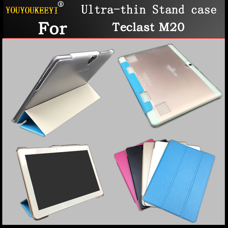 Ultra-thin Thr-Folding Stand cover Case For Teclast M20 10.1 Tablet case for Teclast M20+Protective film+StylusUltra-thin Thr-Folding Stand cover Case For Teclast M20 10.1 Tablet case for Teclast M20+Protective film+Stylus