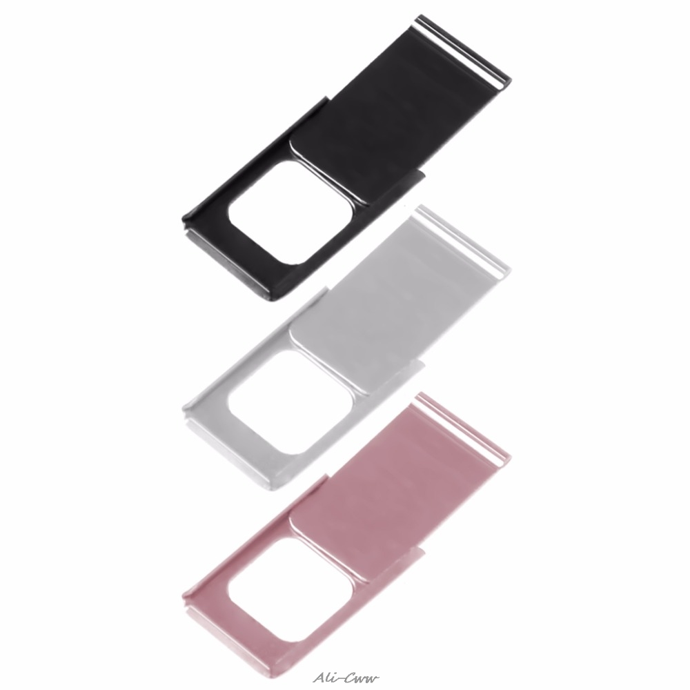 1PC Black/Pink/Silver Webcam Camera Protector Cover Shield For Notebook Laptop PC Tablet Smartphone Gift Laptop Accessories