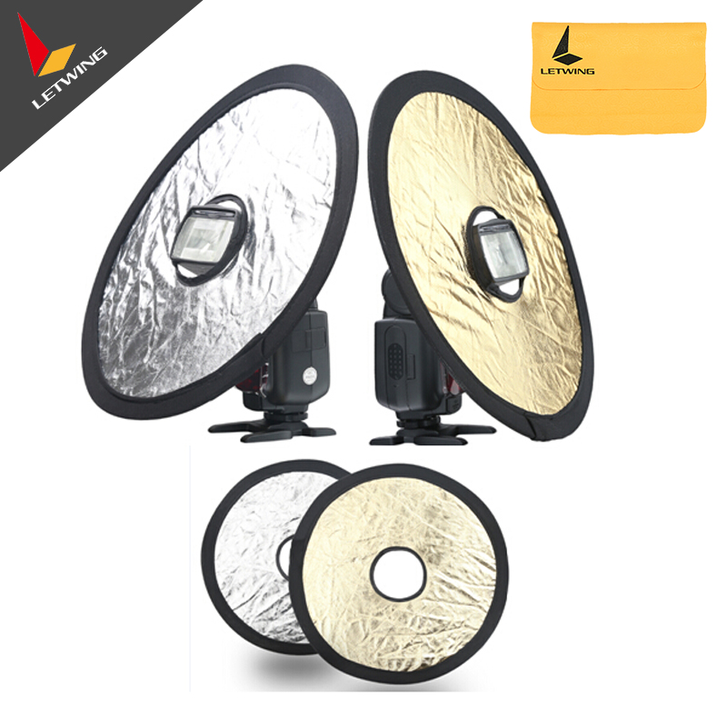General Portable Folding Photography Equipment 30cm Camera Reflector Soft Board qzsd portable photography reflector